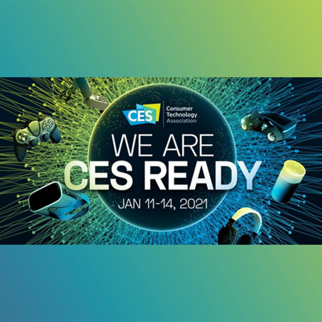 🚨 It's official! 🚨We will be exhibiting at CES 2021 🎉